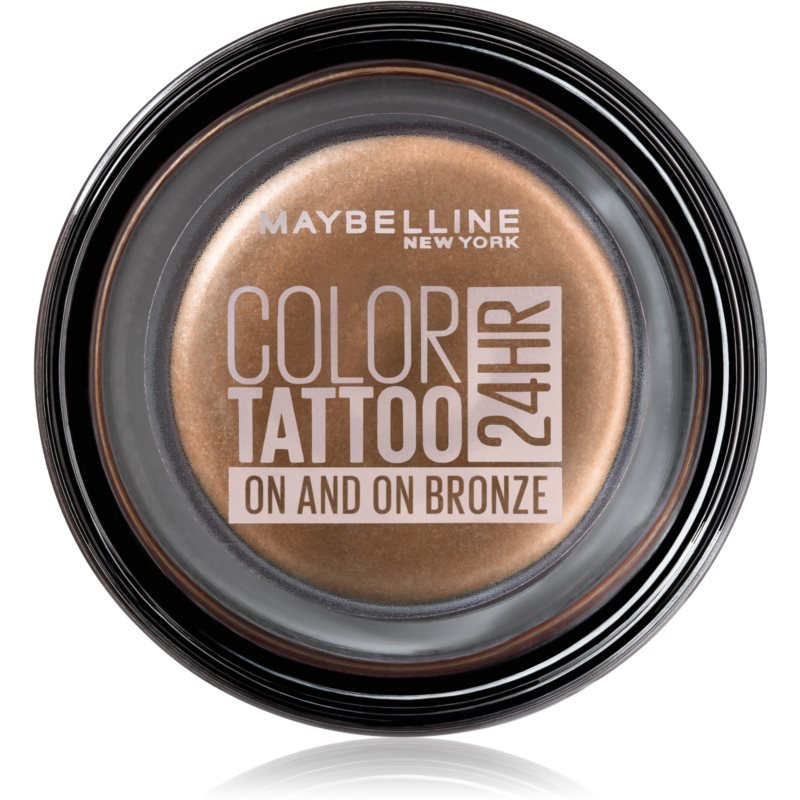 Maybelline Color Tattoo Gel Eyes Shadow Shade 35 On And On Bronze 4 g from Maybelline