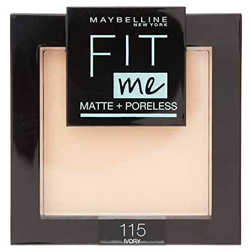 Maybelline Fit Me Matte And Poreless Powder 115 Ivory 9g from Maybelline