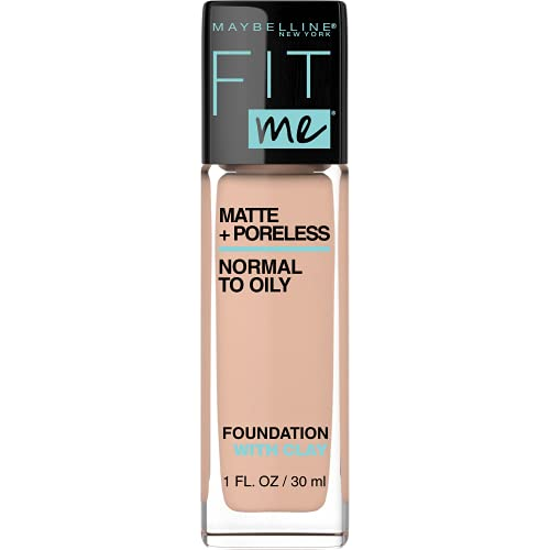 MAYBELLINE - Fit Me Matte + Poreless Foundation 235 Pure Beige - 1 fl oz (30 ml) from Maybelline