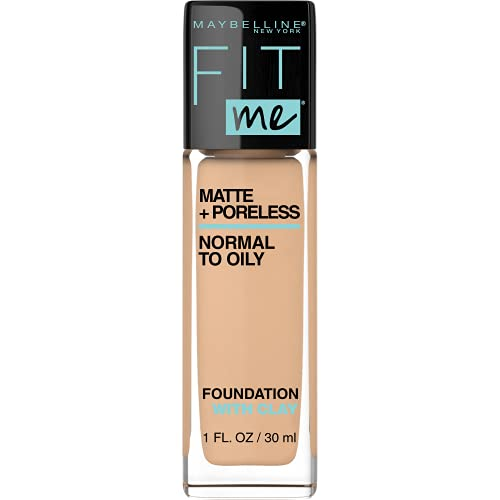 Maybelline Fit Me Matte Plus Poreless Foundation - Warm Nude from Maybelline