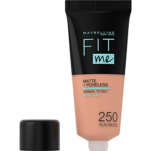 Maybelline Fit Me Matte & Poreless Foundation 250 Sun Beige 30ml from Maybelline