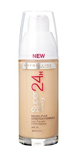 Maybelline SuperStay24H Liquid Foundation 010 Ivory 30ml from Maybelline