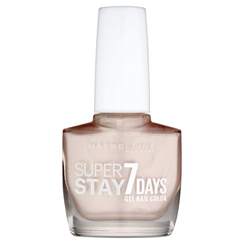 Maybelline Superstay 7 Days City Nudes Nail Polish, Dusted Pearl from Maybelline