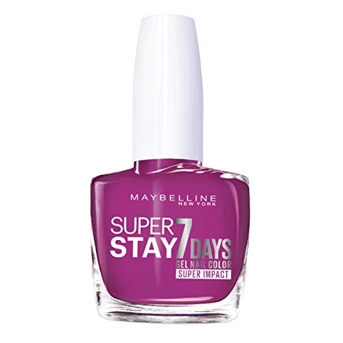 Maybelline Superstay 7 Days Super Impact Nail Color 886 24/7 Fuchsia 49g from Maybelline