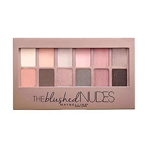 Maybelline Eyeshadow Palette, 9.6 g, The Blushed Nudes from Maybelline