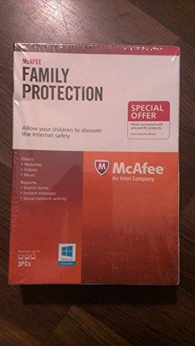 McAfee FamProt - 3 Users - Half Price from McAfee