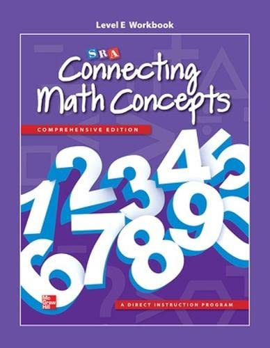 Connecting Math Concepts Level E, Workbook from McGraw-Hill Education