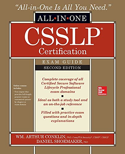 CSSLP Certification All-in-One Exam Guide, Second Edition from McGraw-Hill Education