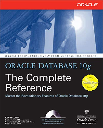 Oracle Database 10g The Complete Reference (Oracle Press) from McGraw-Hill Education