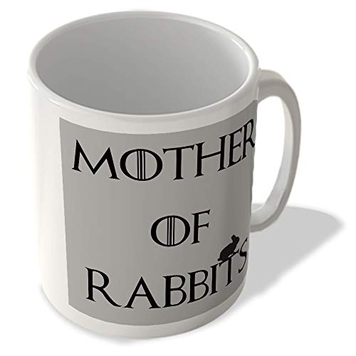 TVF_045 MOTHER OF RABBITS Funny gift printed mugs cup from McMug