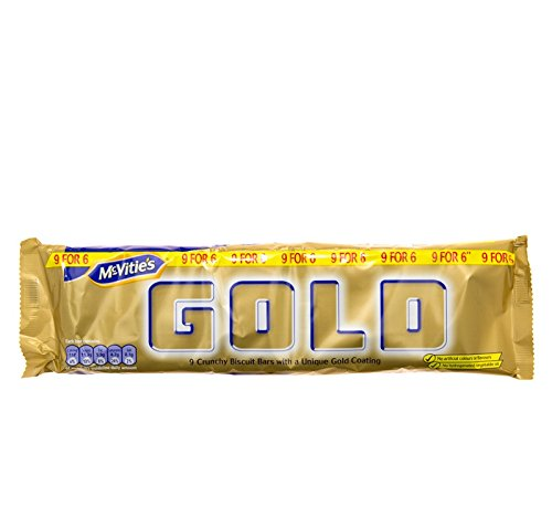 12 X MCVITIES GOLD BAR £1.00 6(12 PACK BUNDLE) from McVities