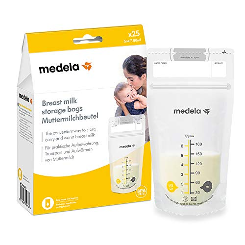 Medela Breastmilk Storage Bags, 25-Count from Medela