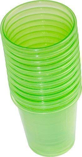 80 Pieces Medication cup Medicine Cups Brandy Bowl Premium different colors from Medi-Inn - Green from Medi-Inn
