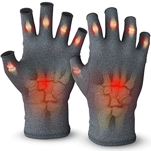 Medipaq(r) Anti-Arthritis Gloves (Pair) - Providing Warmth and Compression To Help Increase Circulation Reducing Pain and Promoting Healing 1x Pair (Medium) from Medipaq