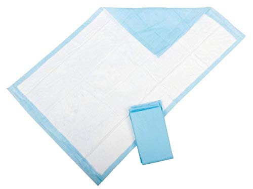 Medline Protection Plus Incontinence Disposable Bed Pads 40 x 60 cm - Pack of 25 (6 Packs of 25) from Medline