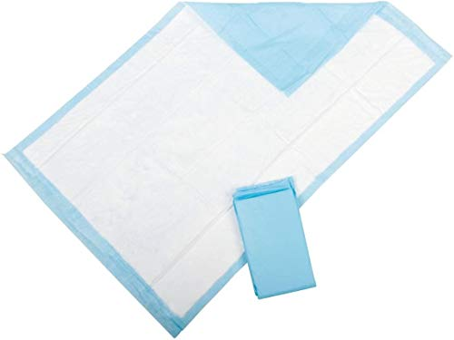 Medline Protection Plus Incontinence Disposable Bed Pads 60 x 90 cm - Pack of 25 (2 Packs of 25) from Medline