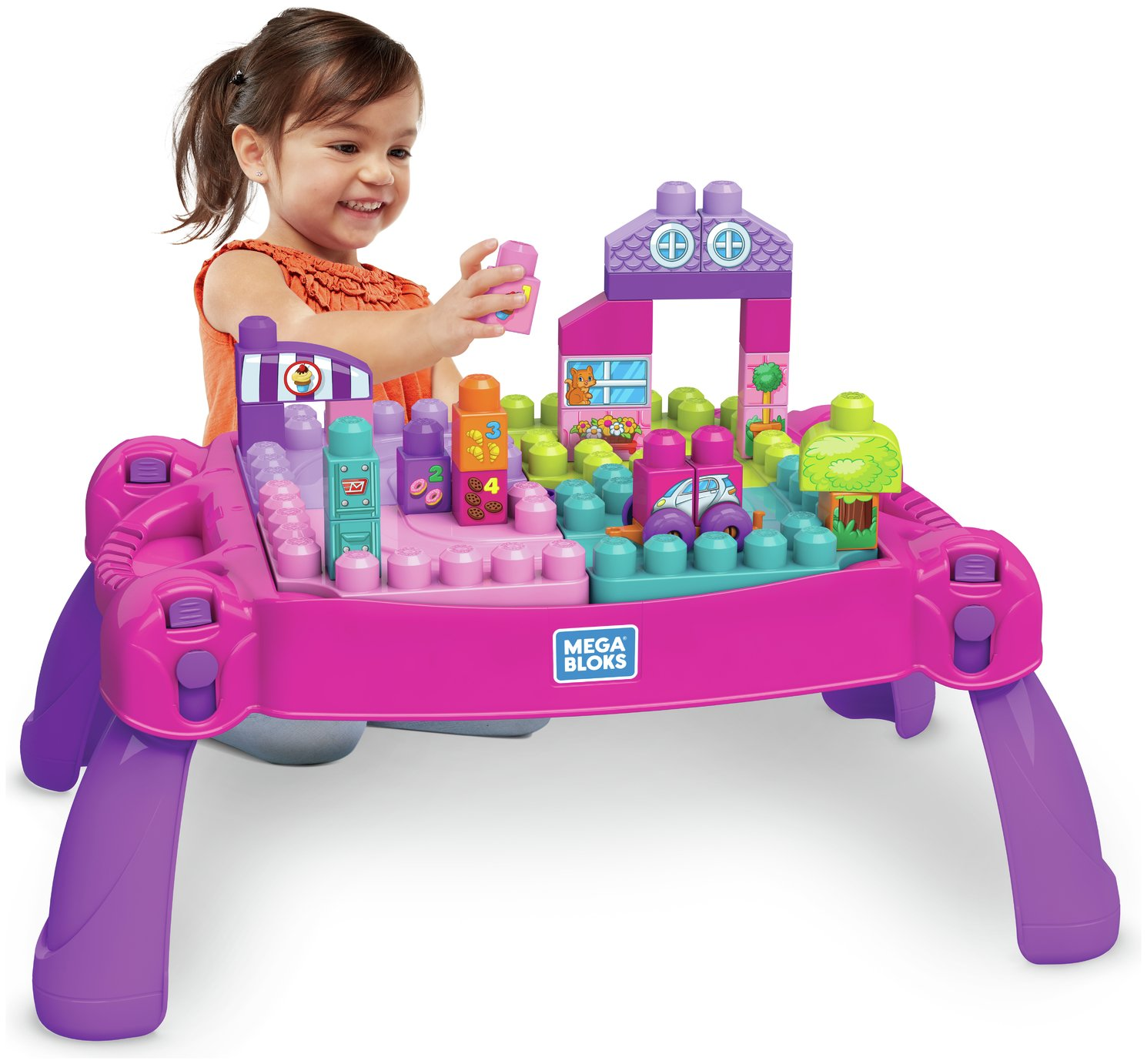 Mega Bloks - First Builders Lil' Princess Fairytale Table from Mega Bloks