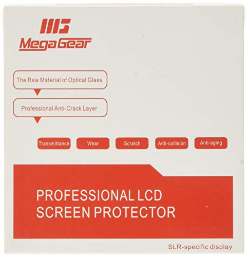 MegaGear MG1445 Camera LCD Optical Screen Protector for Panasonic Lumix DC-ZS200, TZ200 from MegaGear