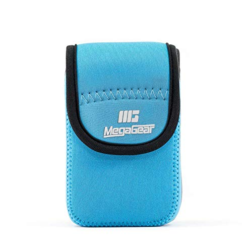 MegaGear MG703 Ultra Light Neoprene Camera Case compatible with Panasonic Lumix DC-TZ95, DC-TZ90, DMC-TZ80 - Blue from MegaGear
