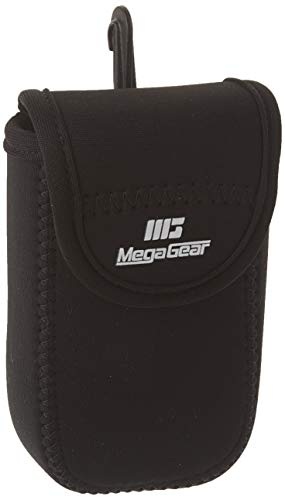 MegaGear MG779 Ultra Light Neoprene Case with Carabiner for Samsung WB35F/WB350F Camera - Black from MegaGear