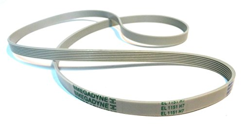 Megadyne – El 1151 H7 Washing Machine Drive Belt from Megadyne