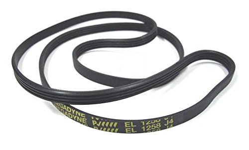 Megadyne EL 1258 J4 Washing Machine Drive Belt from Megadyne