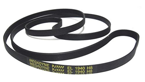 Megadyne - Tumble dryer belt EL 1940 H8 from Megadyne