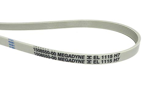 Megadyne - Washing machine drive belt EL 1115 H7 from Megadyne