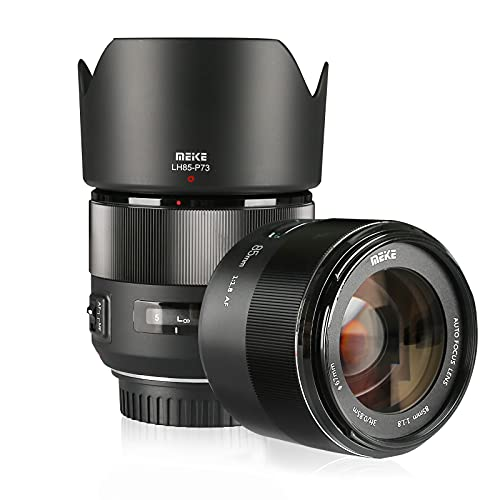 MEIKE 85mm f1.8 Large Aperture Full Frame Auto Focus Prime Telephoto Lens for EOS EF Mount Camera Compatible with APS-C Bodies Such as 1D 5D3 5D4 6D 7D 70D 550D 80D by Zenith Digital Bay (EF-Mount) from Meike