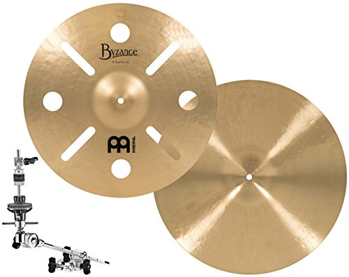Meinl Cymbals AC-DEEP Anika Nilles Artist Concept Model 18-Inch Byzance Deep Hats with X-Hat Arm (VIDEO) from Meinl Cymbals