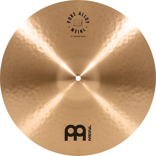 Meinl Pure Alloy Medium Crash PA16MC from Meinl Cymbals