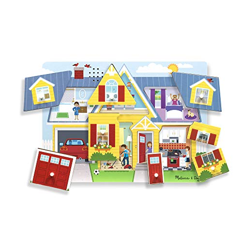 Melissa & Doug 10734 Around The House Sound Puzzle, Multi Coloured from Melissa & Doug