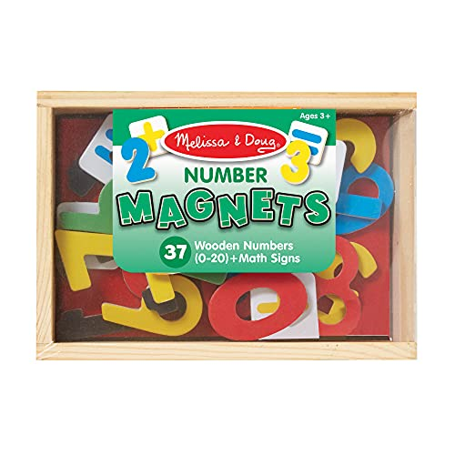 Sablon Magnetic Wooden Numbers from Sablon