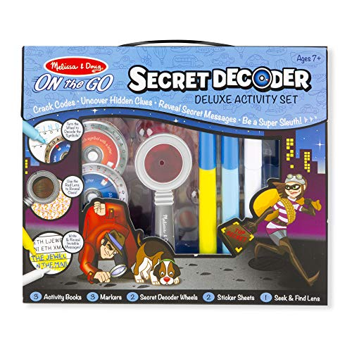 Melissa & Doug On the Go Secret Decoder Deluxe Activity Set and Super Sleuth Toy from Melissa & Doug