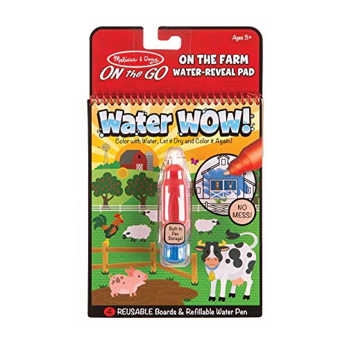 Melissa & Doug On the Go Water Wow! Connect the Dots Water Reveal Pad from Melissa & Doug