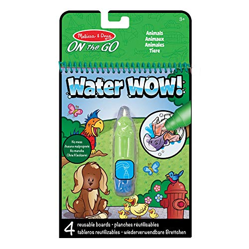 Melissa & Doug On the Go Water Wow! Reusable Water-Reveal Activity Pad - Animals from Melissa & Doug