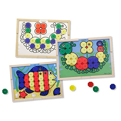 Melissa & Doug Sort and Snap Color Match - Sorting and Patterns Educational Toy from Melissa & Doug