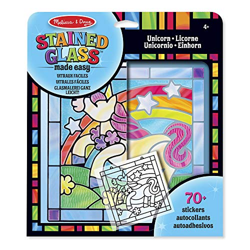 Melissa & DougStained Glass Made Easy - Unicorn from Melissa & Doug