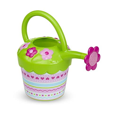 Melissa & Doug Sunny Patch Pretty Petals Flower Watering Can - Pretend Play Toy from Melissa & Doug