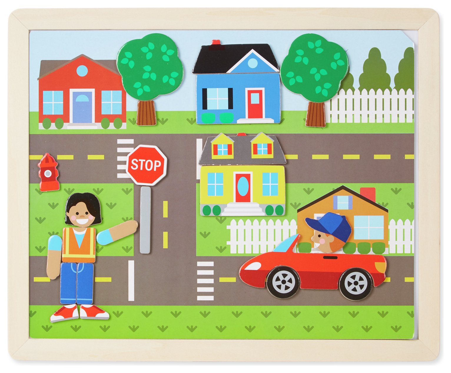 Melissa & doug Wooden Magnetic Picture Game from Melissa & Doug