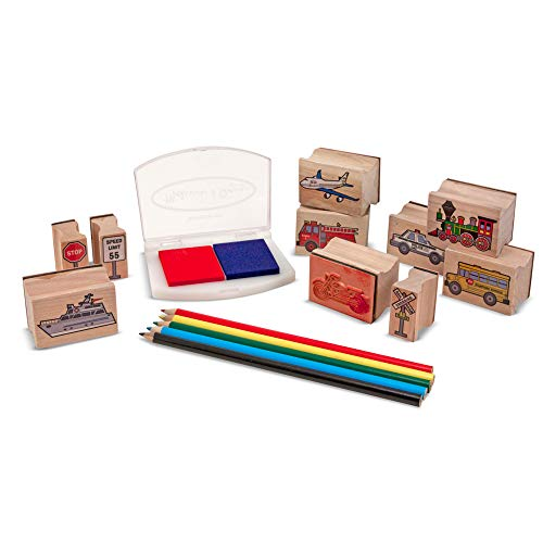 Vehicle Stamp Set: Arts & Crafts - Stamps from Melissa & Doug