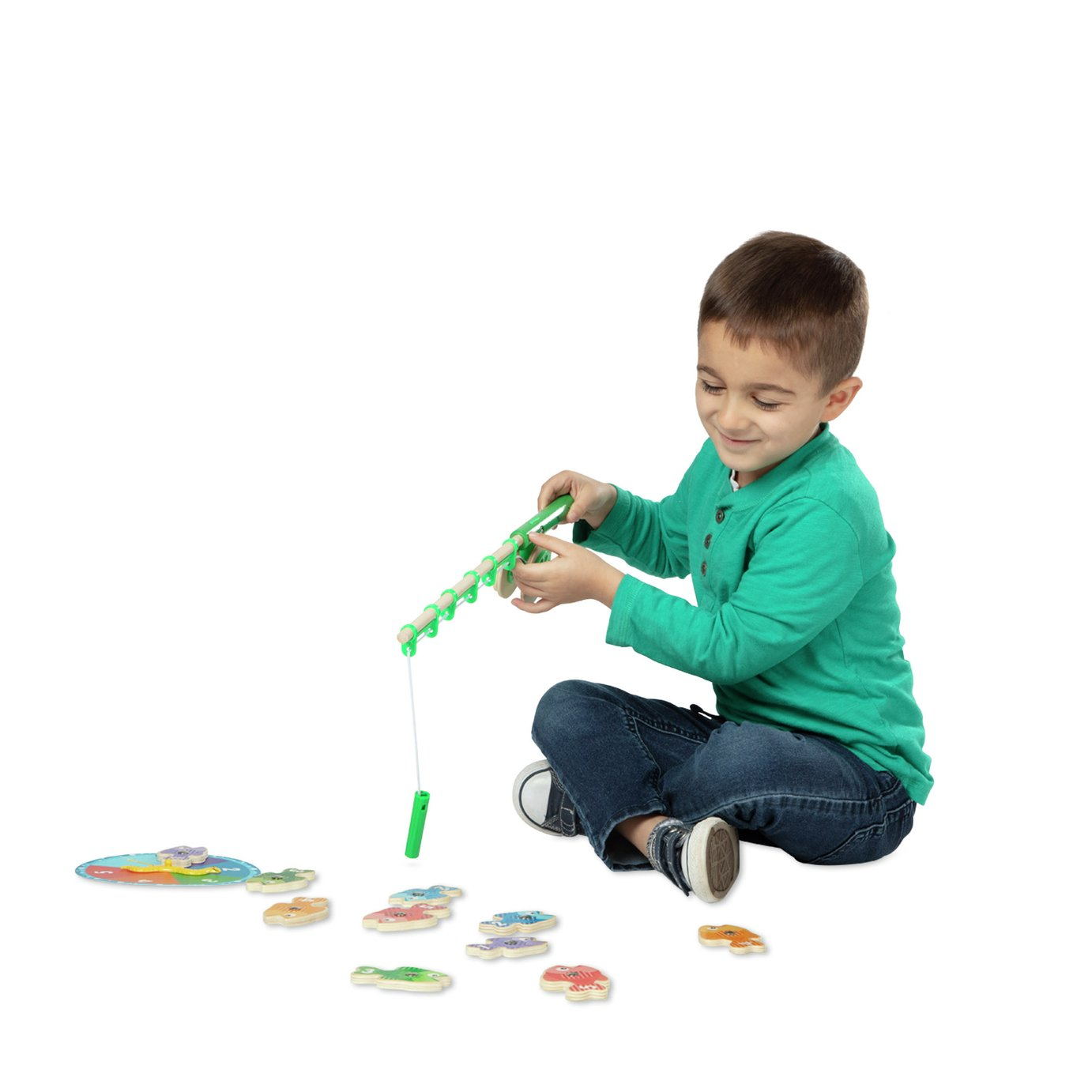 Melissa and Doug Catch and Count Fishing Game. from Melissa & doug