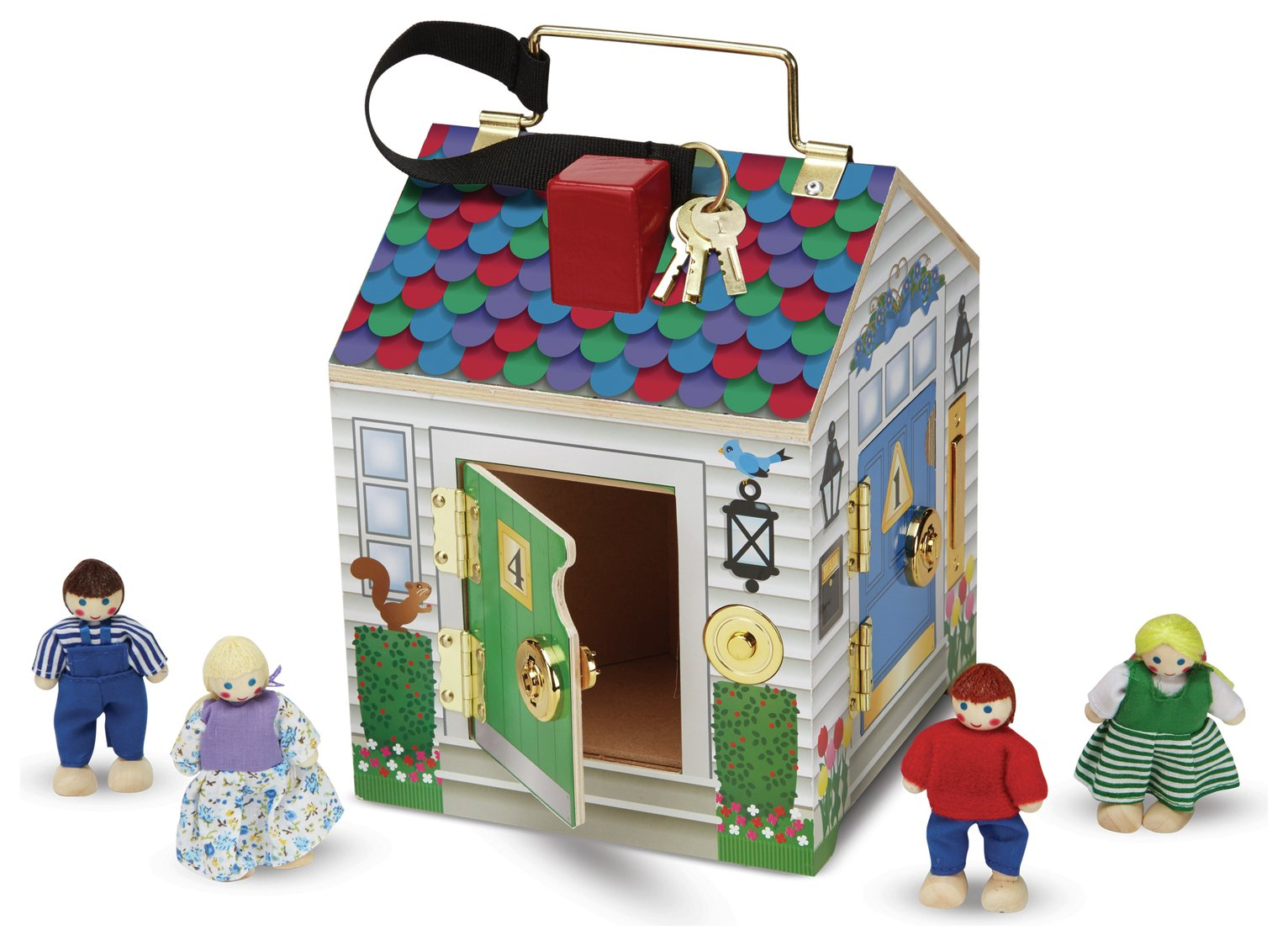 Melissa and Doug - Doorbell House from Melissa & doug