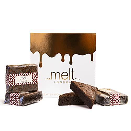 Melt Chocolates - Brownies Gift Set of 4 - London's Most Luxurious Chocolate from Melt Chocolates