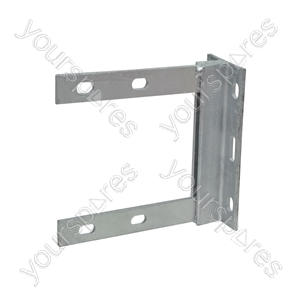 Galvanised Wall Bracket - 6 x 6 inch bracket- bulk - AE4091G from Mercury