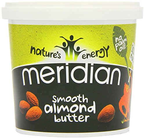 (12 PACK) - Meridian - Natural Almond Butter Smooth | 1000g | 12 PACK BUNDLE from Meridian Foods