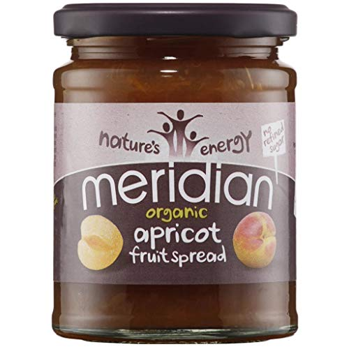 (4 PACK) - Meridian - Org Apricot Fruit Spread | 284g | 4 PACK BUNDLE from Meridian Foods
