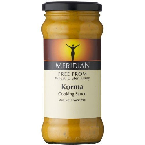 (Pack Of 12) - Free From Korma Sauce | MERIDIAN FOODS - No GM Soya us from Meridian Foods