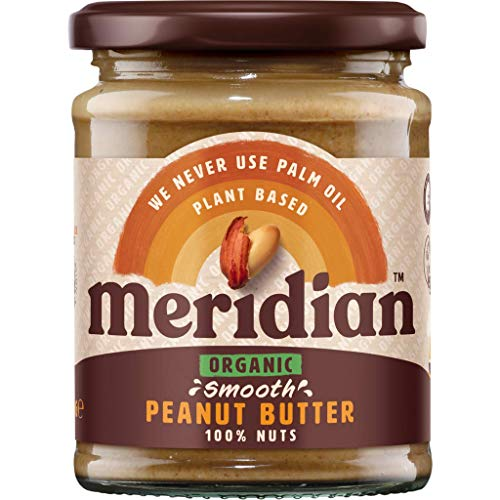 (Pack Of 3) - Organic Peanut Butter Smooth - No Salt / No Sugar | MERIDIAN FOODS - No GM Soya us from Meridian Foods