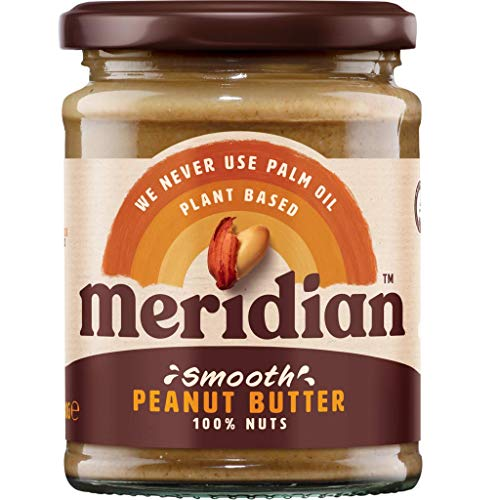 (Pack Of 4) - Peanut Butter Smooth - No Salt / No Sugar | MERIDIAN FOODS - No GM Soya us from Meridian Foods